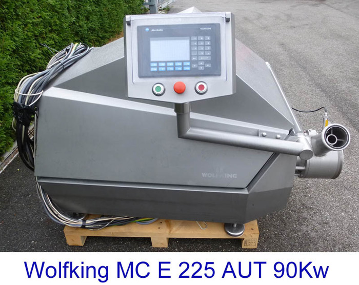 Wolfking Microcutter E 225 AUT from Year 2000, 90Kw
