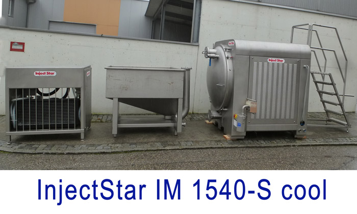 InjecStar Intensive massaging system MI 1540 cool with vacuum loading