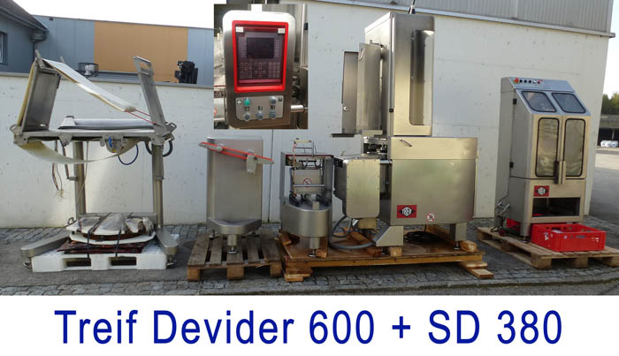 Slicer TREIF Divider 600 with SD 380