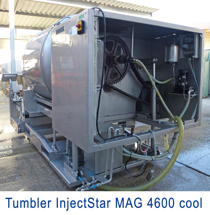 Tumbler Injectstar MAG 4600-CSL Cooling