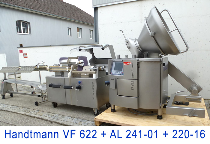 Used Handtmann VF 622 with AL