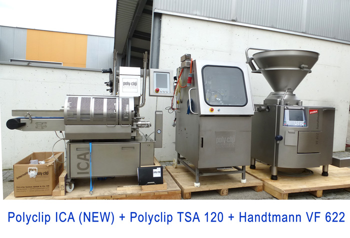 Petfood Line Poly Clip ICA and Poly Clip TSA 120 with HandtmannVF 622