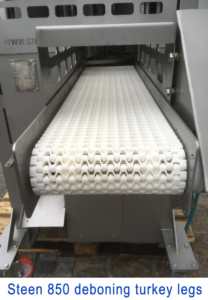 Steen 850, Boning Turkey