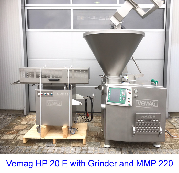 Vemag HP 20 E with Grinder and MMP 220