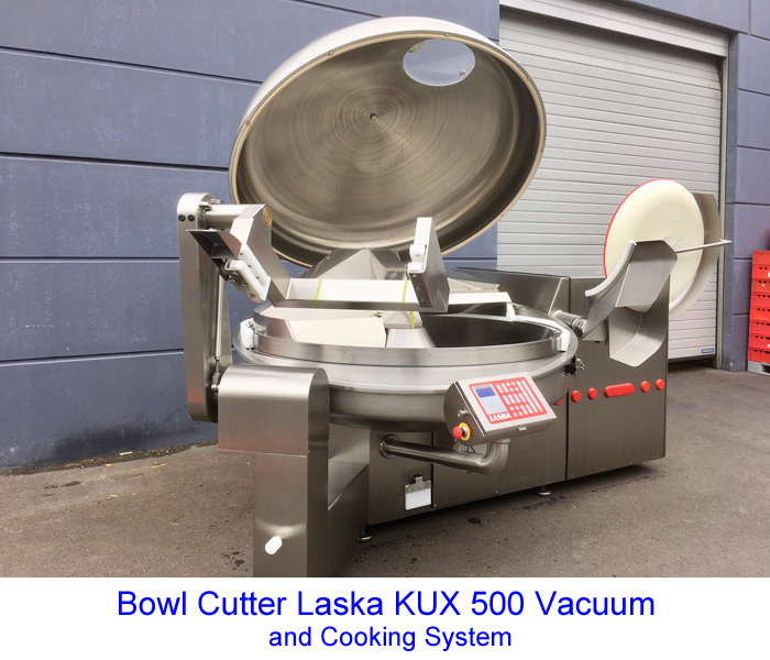 Bowl Cutter Laska KUX 500 Vacuum and Cooking System