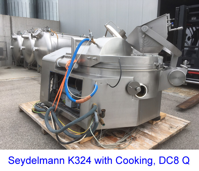 Seydelmann K324 with Cooking, DC8 Q