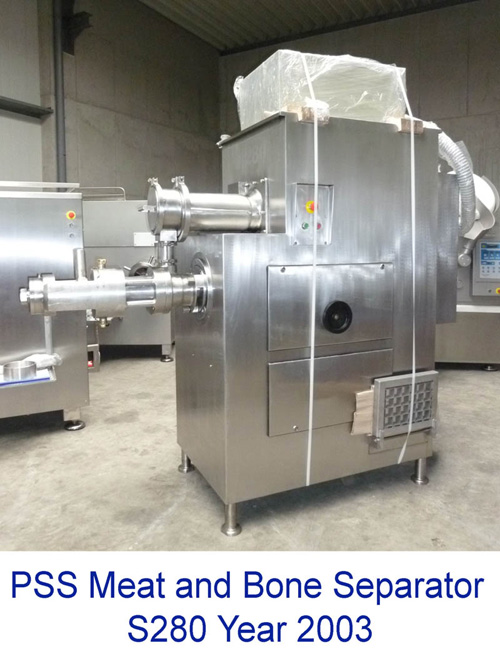 PSS Meat and Bone Separator S280, from Year 2003