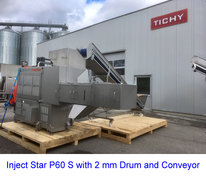 Inject Star P60 S with 2 mm Drum and Conveyor