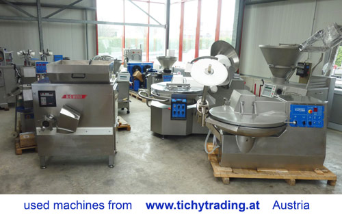 Used machines from www.tichytrading.at, Austria